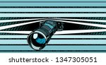 photo camera peeping... | Shutterstock .eps vector #1347305051
