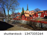 vasteras  sweden   22 march ... | Shutterstock . vector #1347335264