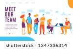 vector deram team creative... | Shutterstock .eps vector #1347336314