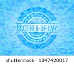 brother in law sky blue emblem...