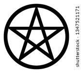 Neopagan Pentagram Clipart