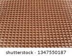 tasty wafer as background ... | Shutterstock . vector #1347550187