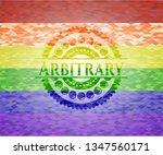 arbitrary on mosaic background... | Shutterstock .eps vector #1347560171