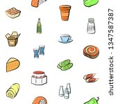 food images. background for... | Shutterstock .eps vector #1347587387