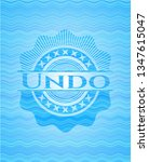 undo light blue water wave... | Shutterstock .eps vector #1347615047