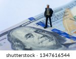 miniature figurine concept  ...   Shutterstock . vector #1347616544
