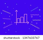 happy style graph icon ...   Shutterstock .eps vector #1347633767