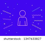 happy style person vector icon. ...   Shutterstock .eps vector #1347633827