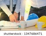 teamwork businessman and...   Shutterstock . vector #1347686471