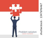 problem solution vector design...   Shutterstock .eps vector #1347696467