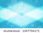 beautiful turquoise abstract... | Shutterstock . vector #1347704171