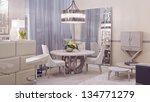 contemporary living room | Shutterstock . vector #134771279