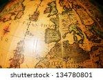 tel aviv   aug 26  vintage... | Shutterstock . vector #134780801