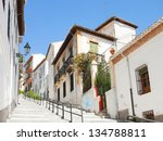 The Narrow Street With Old...