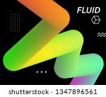 colorful geometric background.... | Shutterstock .eps vector #1347896561
