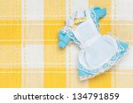 miniature maid outfit | Shutterstock . vector #134791859