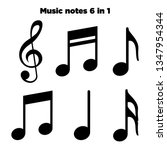 Music Notes  Song  Melody And...