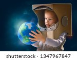 child is dressed in an... | Shutterstock . vector #1347967847