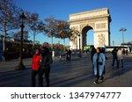 paris  france   november 19 ... | Shutterstock . vector #1347974777