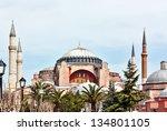 hagia sophia is a former...   Shutterstock . vector #134801105