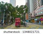 hong kong  china   circa... | Shutterstock . vector #1348021721