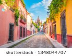 Beautiful Streets And Colorful...