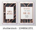design templates for flyers ... | Shutterstock .eps vector #1348061351