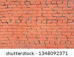 background image of an old red... | Shutterstock . vector #1348092371