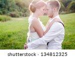 vintage wedding | Shutterstock . vector #134812325