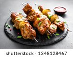 Grilled Meat Skewers  Shish...