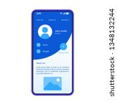 social media app smartphone...