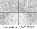 black grainy texture isolated... | Shutterstock .eps vector #1348183067