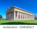 temple of hera at famous... | Shutterstock . vector #1348185617