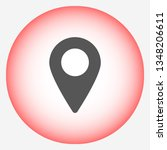 gps vector icon 10 eps | Shutterstock .eps vector #1348206611