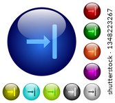 align to right icons on round... | Shutterstock .eps vector #1348223267