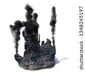 hydrothermal vents  black...