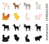 vector design of breeding and... | Shutterstock .eps vector #1348261334