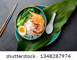 Rice Noodles With Shrimps  Egg...