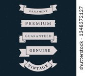 vintage premium banner... | Shutterstock .eps vector #1348372127