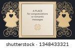 design of letterhead for laser... | Shutterstock .eps vector #1348433321