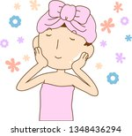 this is an illustration of a... | Shutterstock .eps vector #1348436294