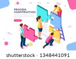 corporate  joint company.... | Shutterstock .eps vector #1348441091