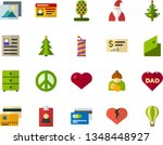 color flat icon set   pacific... | Shutterstock .eps vector #1348448927