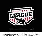 modern professional emblem... | Shutterstock .eps vector #1348469624