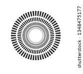 burst  beams  rays geometric... | Shutterstock .eps vector #1348475177