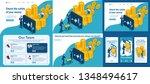 set template article  landing...   Shutterstock .eps vector #1348494617