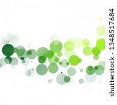 bubbles circle dots unique... | Shutterstock .eps vector #1348517684