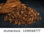 Cut tobacco and tobacco leaves