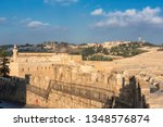 view of temple mount and... | Shutterstock . vector #1348576874