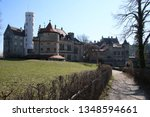 castle lichtenstein swabian jura   Shutterstock . vector #1348594661